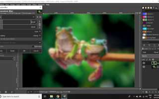 Как создать эффект мечтательного мягкого фокуса Ортона в GIMP