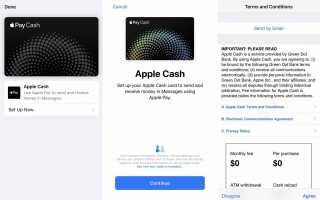 Как использовать Apple Pay Cash