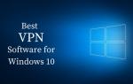 Лучшее программное обеспечение VPN для Windows 10