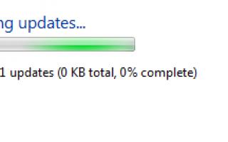 Как исправить ошибки обновления Windows 7, не загружая