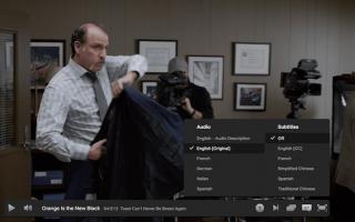 Как отключить субтитры на Netflix