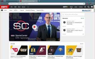 Как вести прямую трансляцию боев UFC с ESPN +