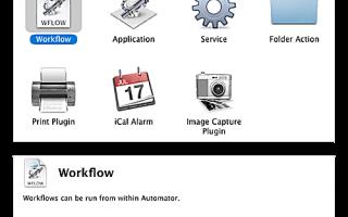 Использование Automator для переименования файлов и папок