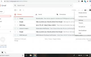 Как скачать логи чата Gmail через IMAP
