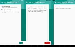 Как перенести приложения на SD-карту на устройствах Android