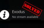 Как исправить Exodus Kodi не работает