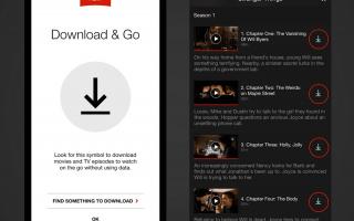 Как смотреть Netflix в автономном режиме