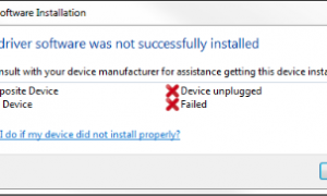 Приемник Logitech Unifying не обнаружен в Windows