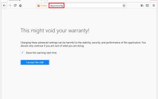 Как отключить JavaScript в Firefox