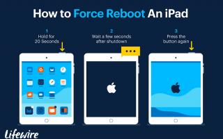 Режим восстановления iPad: исправление заблокированного или застрявшего в Apple iPad-логотипа