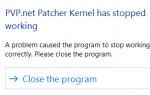 Лучший способ исправить LOL PvP.net Ядро Patcher перестало работать