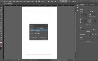Как добавить текстовые эффекты в Adobe InDesign
