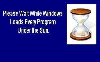 Запретить загрузку программ при запуске Windows
