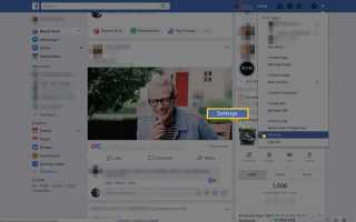 Как изменить настройки языка Facebook