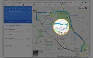 Как спланировать альтернативный маршрут с помощью Google Maps