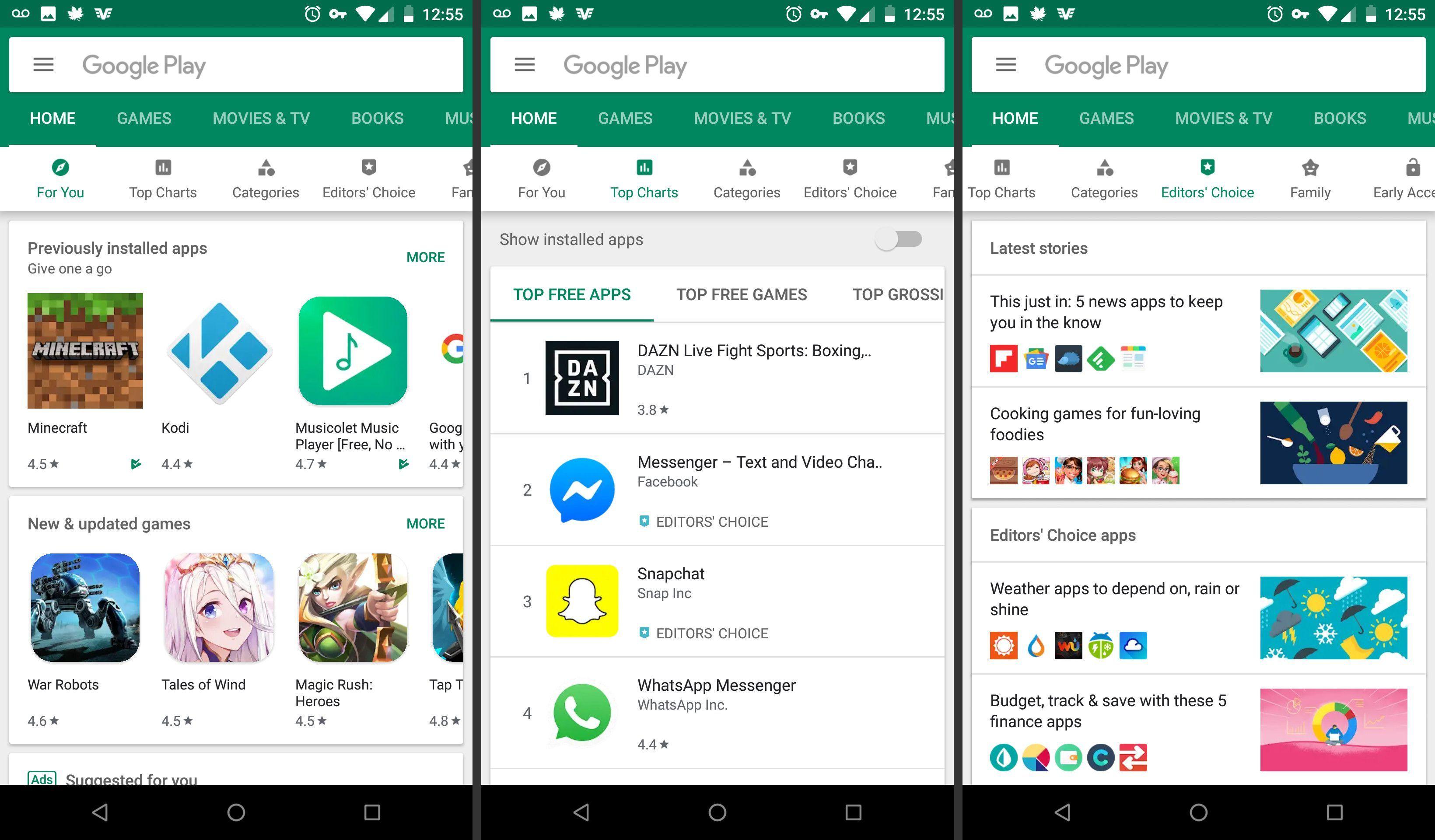 Советы и рекомендации по поиску приложений в Google Play