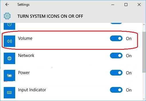 Fix Volume Icon Missing on Windows 10 [with Pictures]