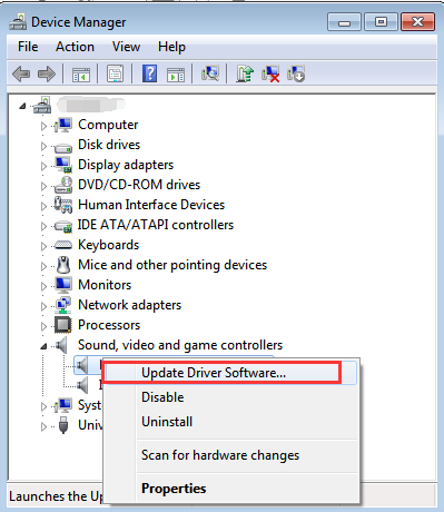 Update IDT Audio Drivers for Windows 7