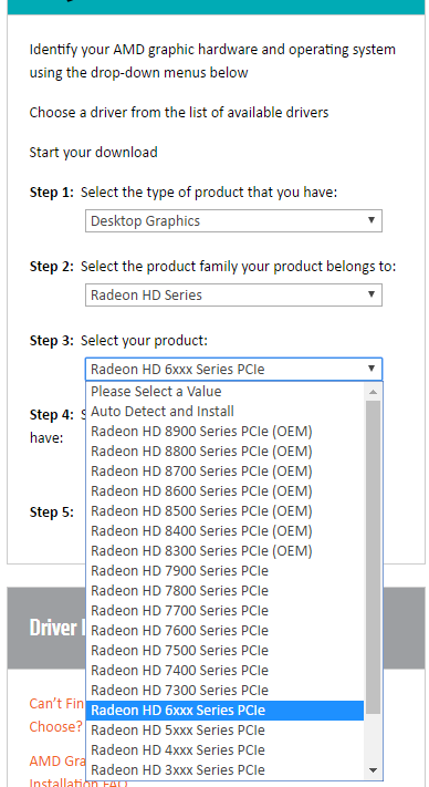 AMD Radeon HD Graphics Drivers for Windows 10