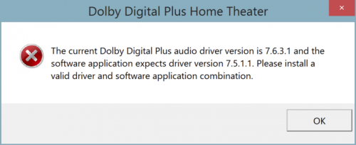 Fix Dolby Home Theater Not Working problem in Windows 10